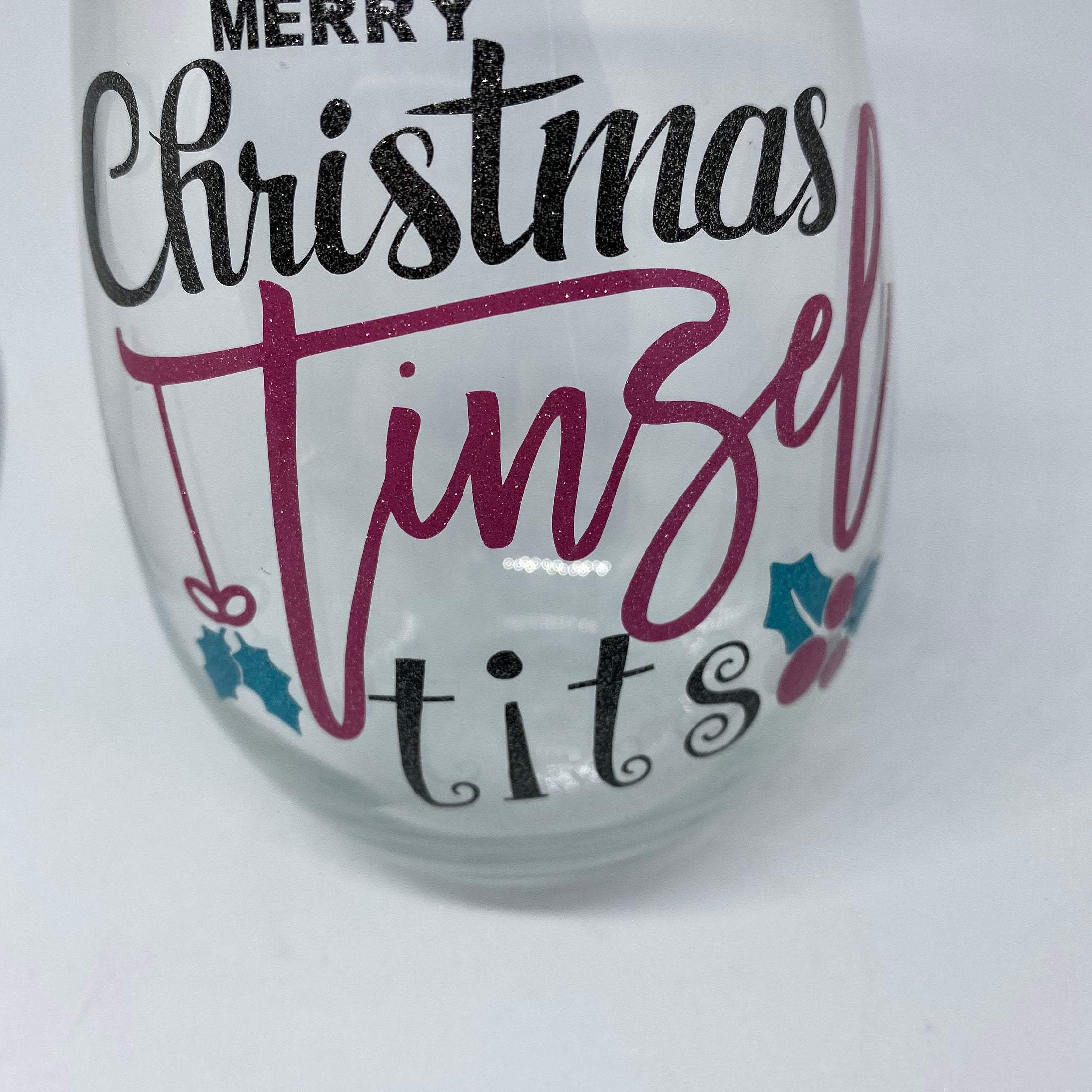 Custom & Personalised Stemless Wine Glass
