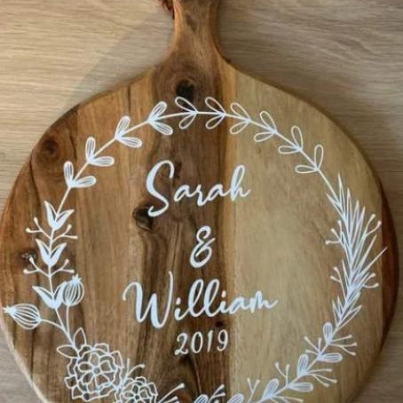 Custom & Personalised Serving Board