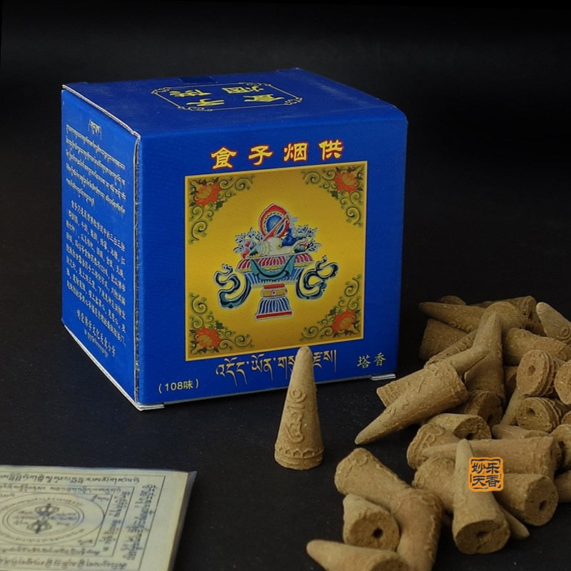 Positive Energy Blessing, Meditation Tibetan incense cone