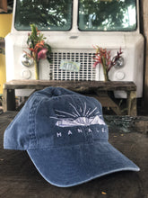 Load image into Gallery viewer, EMBROIDERED HANALEI MOUNTAIN BASEBALL CAP