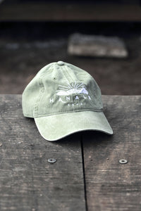 EMBROIDERED HANALEI MOUNTAIN BASEBALL CAP
