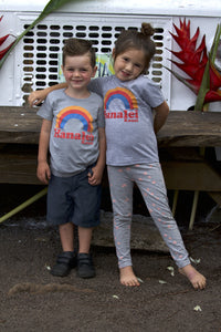 YOUTH HANALEI RAINBOW TEE