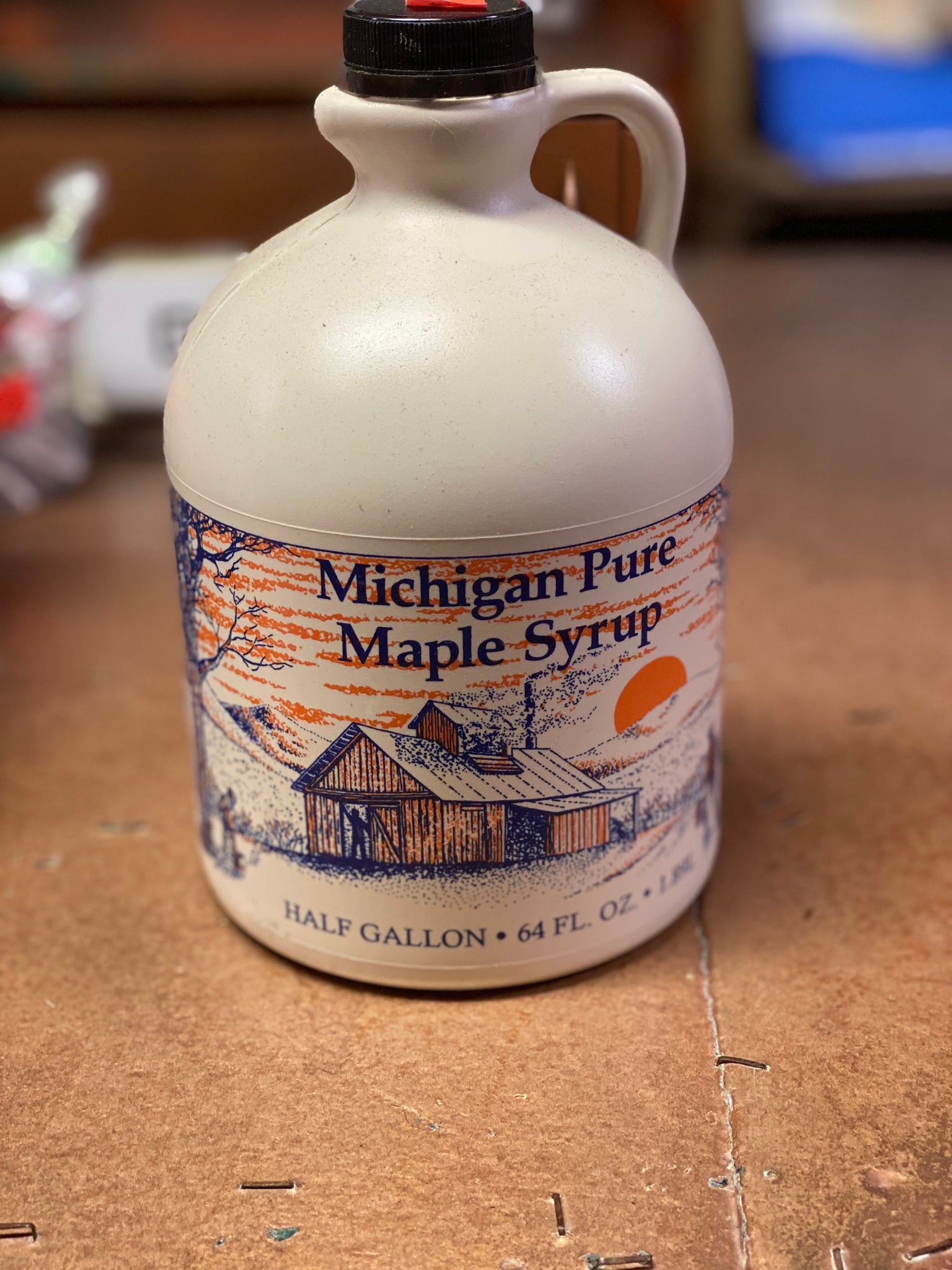 Maple Syrup - 1/2 Gallon