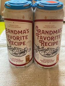 Grandma's Favorite Recipe 4 pack - Delivery only.  Must be present for age verification.