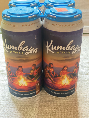 Kumbaya -brown ale - Delivery only.  Must be present for age verification.