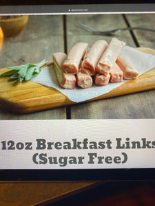 Breakfast Links 12oz pk