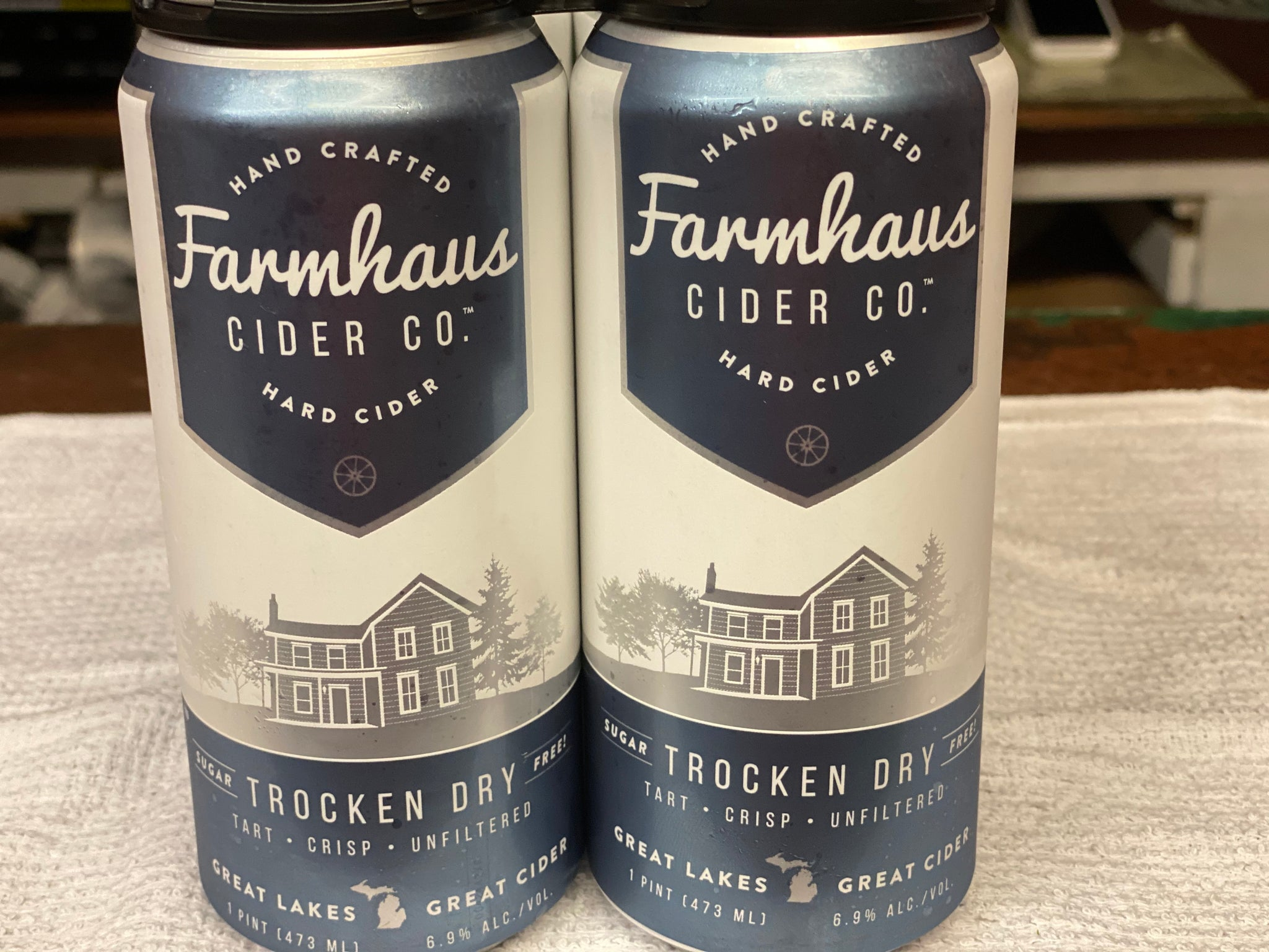 Farmhaus 4pack - Delivery only.  Must be present for age verification.