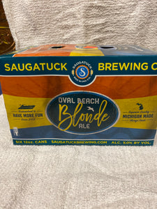 Oval Beach Blonde Ale 6pk