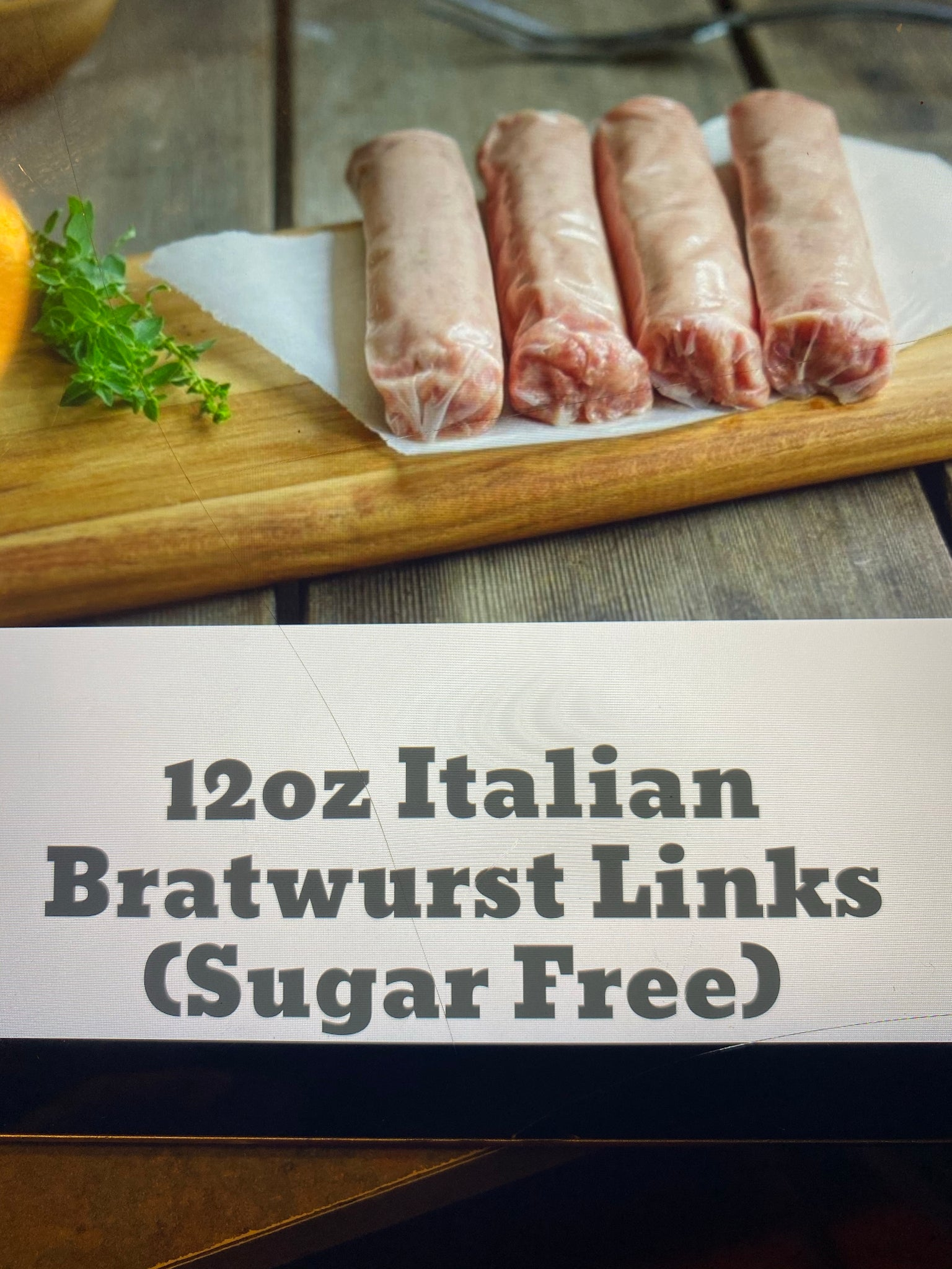 Italian Brat Links 12oz