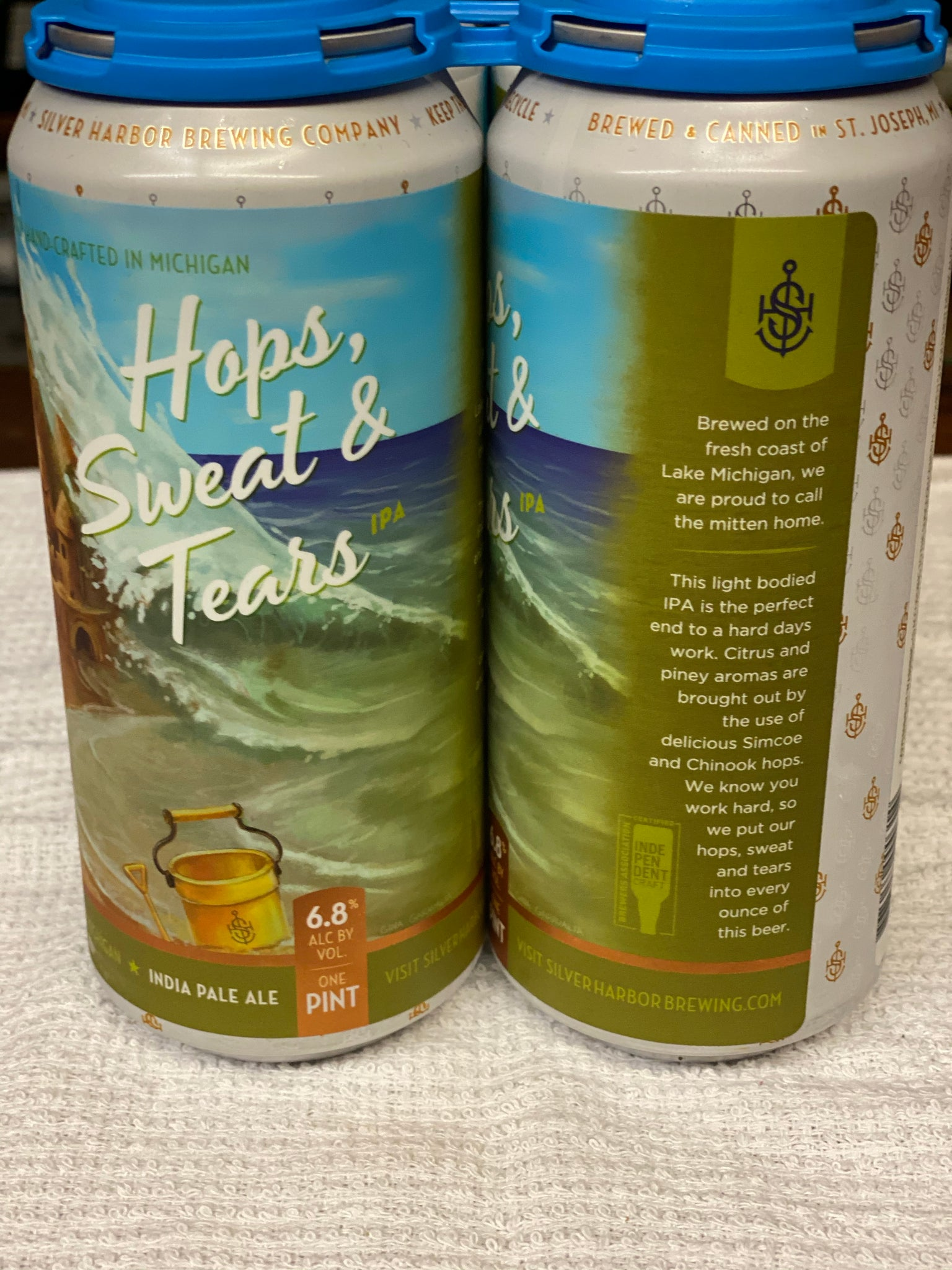 Hops, Sweat & Tears 4pk - Delivery only.  Must be present for age verification.