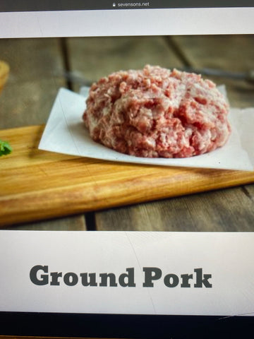 Ground Pork 1lb pk