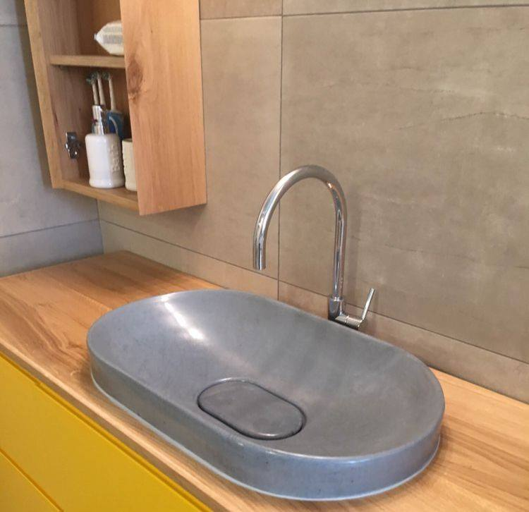 Concrete Sinks - The NEW Trend In Sinks!