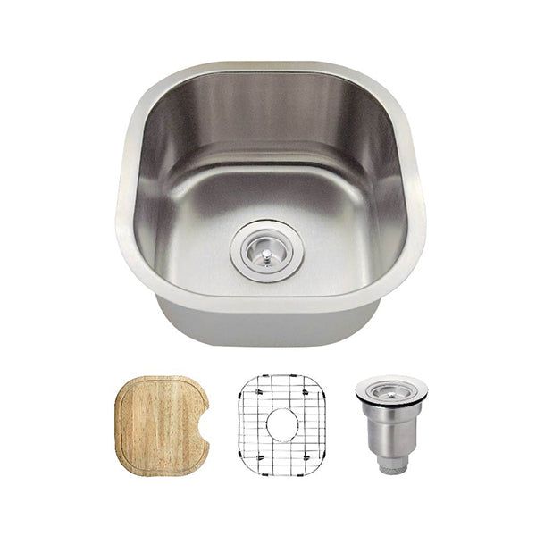 The Polaris P6171 Undermount Kitchen Sink Ensemble