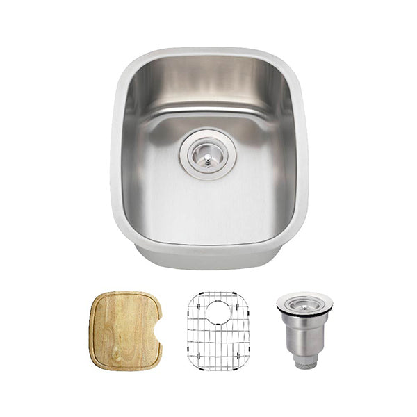 The Polaris P5181 Undermount Kitchen Sink Ensemble