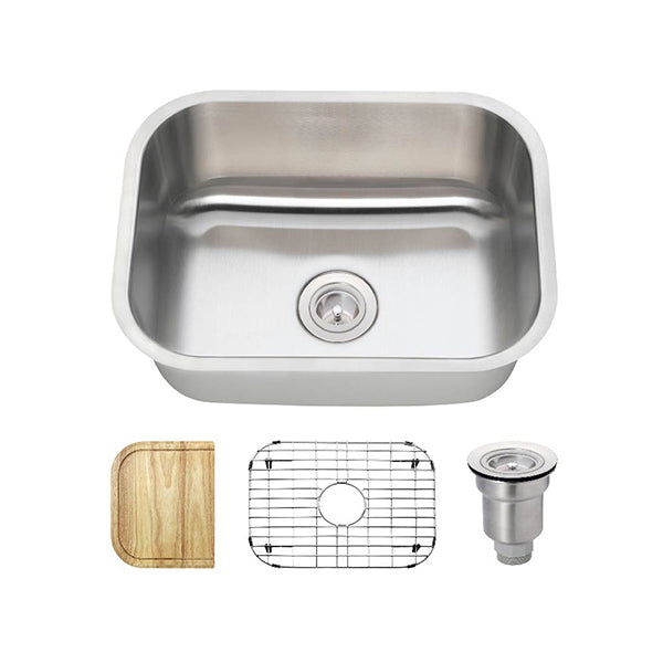 The Polaris P8132 Undermount Kitchen Sink Ensemble