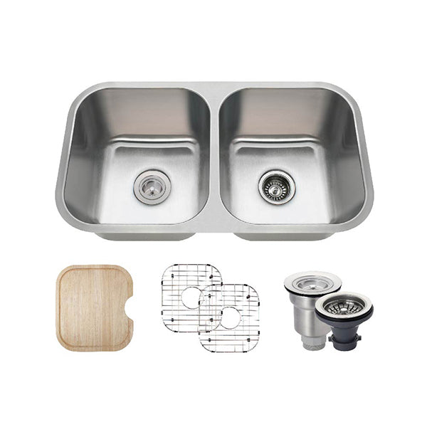 The Polaris PA8123 Undermount Kitchen Sink Ensemble