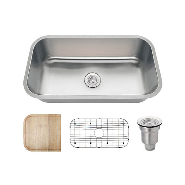 The Polaris PC8123 Undermount Kitchen Sink Ensemble