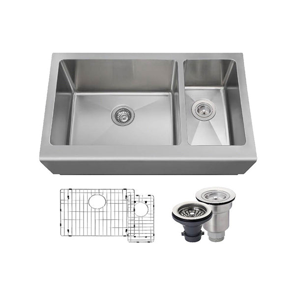 The Polaris PL704 Undermount Kitchen Sink Ensemble