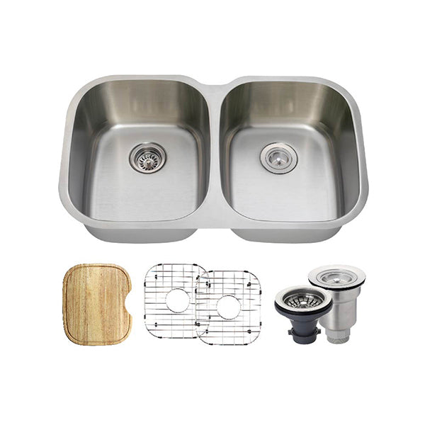 The Polaris P405 Undermount Kitchen Sink Ensemble