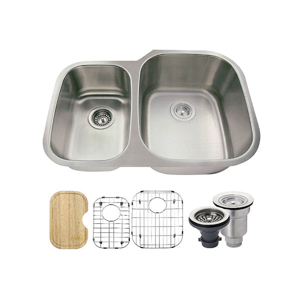 The Polaris PR605 Undermount Kitchen Sink Ensemble