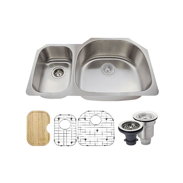 The Polaris PR905 Undermount Kitchen Sink Ensemble