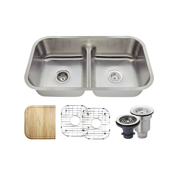The Polaris P215 Undermount Kitchen Sink Ensemble