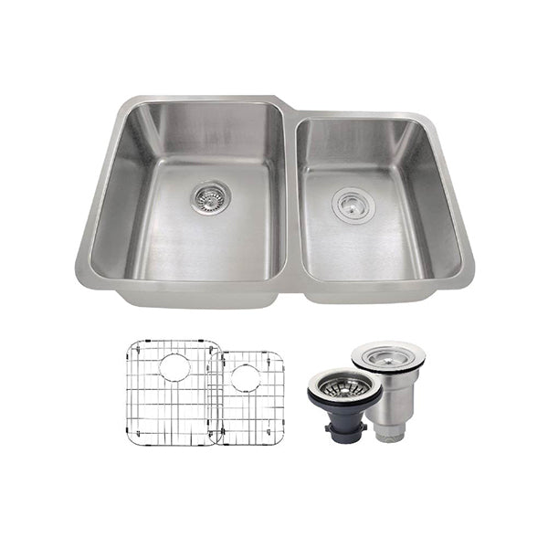 The Polaris PL315 Undermount Kitchen Sink Ensemble
