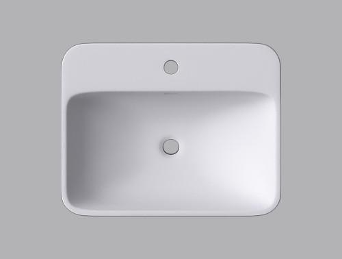 Cantrio Koncepts ST-2318 Square Vessel Sink