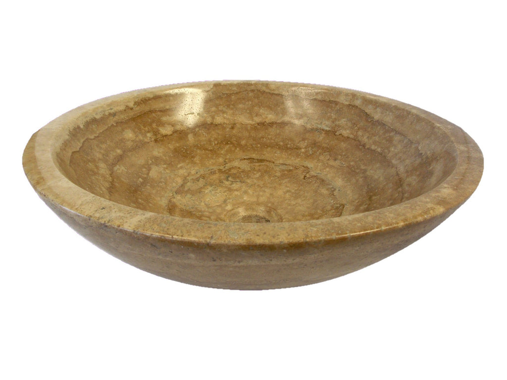 Beige Travertine Sink Bowl