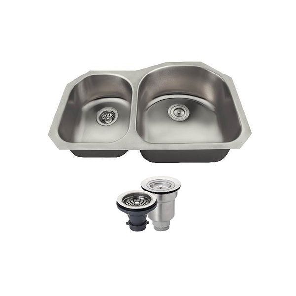 The Polaris PR1301US Undermount Kitchen Sink Ensemble