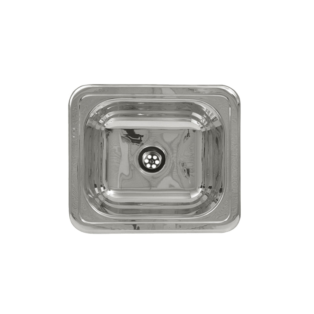 Rectangular Drop-in Entertainment/Prep Sink with a Smooth Surface
