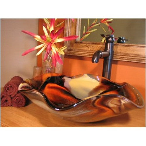 Bear Creek Glass Custom Vessel Sink | Splash Bowl