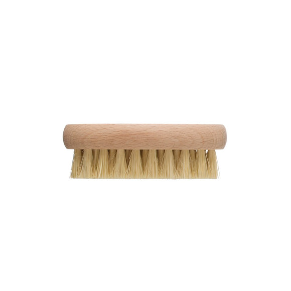 Tampico & Beech Wood Vegetable Brush, Natural