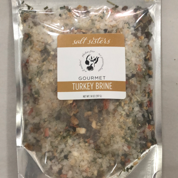 Salt sisters gourmet turkey brine