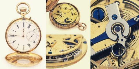 Demi-hunter pocket watch pictures