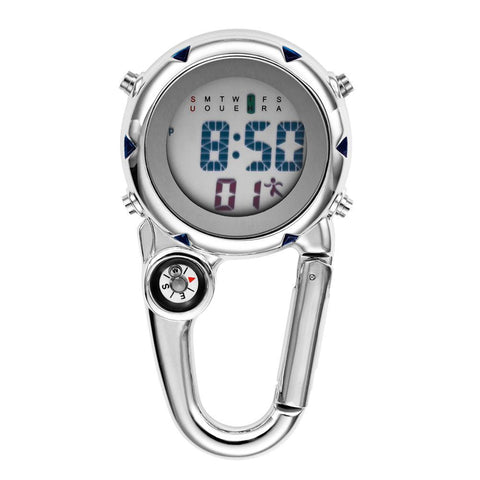Digital Carabiner Multi-function Clip Pocket Watch - Pocket Watch Net