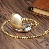 Gold Mechanical Full Hunter Pocket Watch - New England - Pocket Watch Net