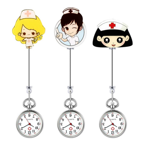 Nurse Watch - Lovely Manga Nurses - Pocket Watch Net