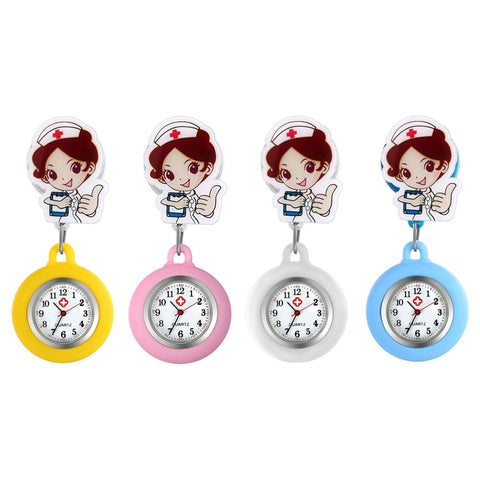 Nurse Watch - Manga Doctor Pin Watch - Pocket Watch Net