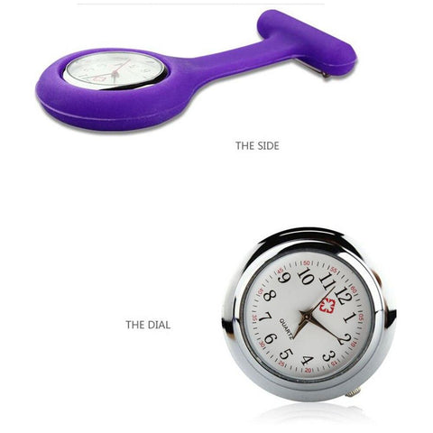 Nurse Watch - Rainbow Silicone Collection - Pocket Watch Net
