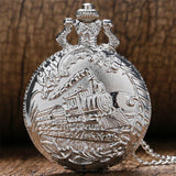Steampunk Quartz Full Hunter Pocket Watch - Bolsteam - Pocket Watch Net