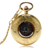 Vintage Automatic Full Hunter Pocket Watch - Royal London - Pocket Watch Net