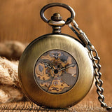 Vintage Automatic Half Hunter Pocket Watch - Mortimer - Pocket Watch Net