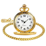 Vintage Quartz Full Hunter Pocket Watch - Watson - Pocket Watch Net