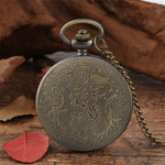 Women's Quartz Full Hunter Pocket Watch - Hermes - Pocket Watch Net