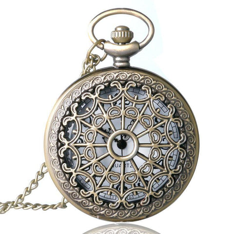 Women's Quartz Pocket Watch - Notre Dame - Pocket Watch Net