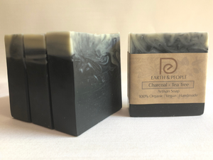 ACTIVATED CHARCOAL & TEA TREE - BAR SOAP