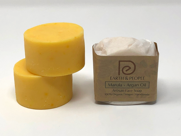MARULA & ARGAN OIL - FACIAL BAR SOAP