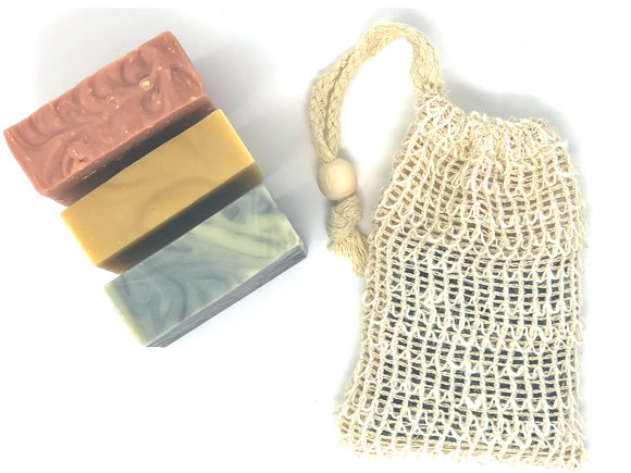 SISAL FIBER - SOAP SAVER BAG