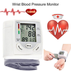 Wearable Wrist Blood Pressure and Heart Rate Monitor